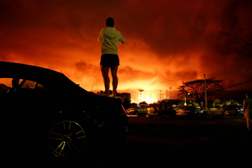Lava-trapped trio airlifted to safety near Hawaii volcano but officials unsure of further holdouts