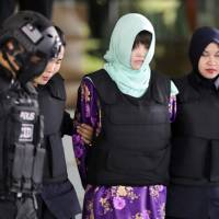 Women must have been 'trained to kill' North Korean leader's half brother, Kim Jong Nam, in Malaysia: prosecutors