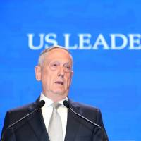 At Singapore security summit, Mattis accuses China of 'intimidation and coercion' in South China Sea