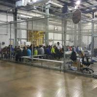 Taken from parents, hundreds of children being kept in Border Patrol facility in Texas