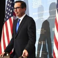 U.S. trade mission travels to China seeks structural changes to its economy: Mnuchin