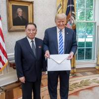 Trump says Kim summit is on for June 12, but puts Japan and South Korea on spot for economic aid