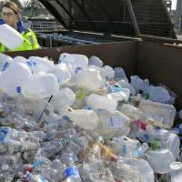 Plastic seen piling up, especially in wealthy states, since China waste-import ban