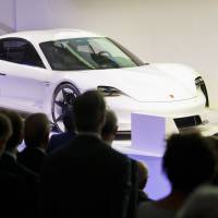 Porsche picks Taycan as name of brand's first electric vehicle