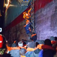Italy snubs aid ship help despite distress calls, hands rescue of 1,000 migrants off to Libya