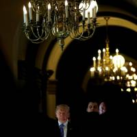 After saying immigrants 'infest' U.S., Trump meets with election-wary GOP ranks for Congress OK to oust them 'as a unit'