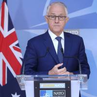 Latest poll shows Turnbull's popularity has risen, but party still trailing opposition
