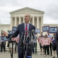 Unions face fewer funds to back Democrats as Supreme Court hands Illinois GOP governor win over public worker fees