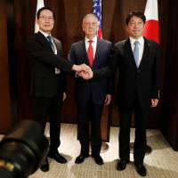 Japan at a crossroads over 'pressure' policy toward North Korea as Trump cozies up to Kim