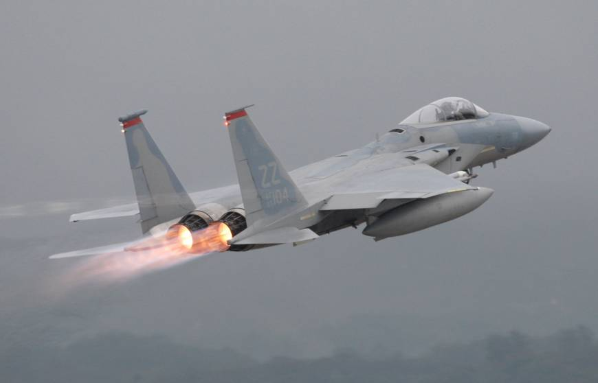 U.S. F-15 from Kadena crashes off Okinawa; pilot rescued by ASDF