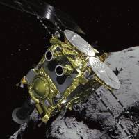 After 3.2 billion-kilometer journey, Japan's Hayabusa2 space explorer arrives on asteroid to retrieve samples