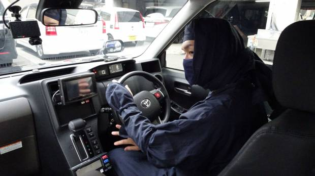 Covert cabs: Yokohama taxi company employs 'ninja' drivers to chauffeur customers