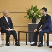 Aid likely if North Korea gives up nukes: Abe