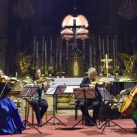 Quartet performs in Vienna with violins crafted from 3/11 tsunami debris