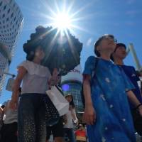 Tokyo area sees earliest end to rainy season on record