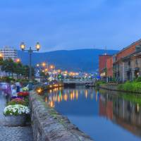 Otaru city, near Sapporo. JNTO hopes that sports fans will travel around Japan during the Rugby World Cup. | GETTY IMAGES