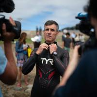 French swimmer departs from Japan and begins Pacific Ocean crossing attempt