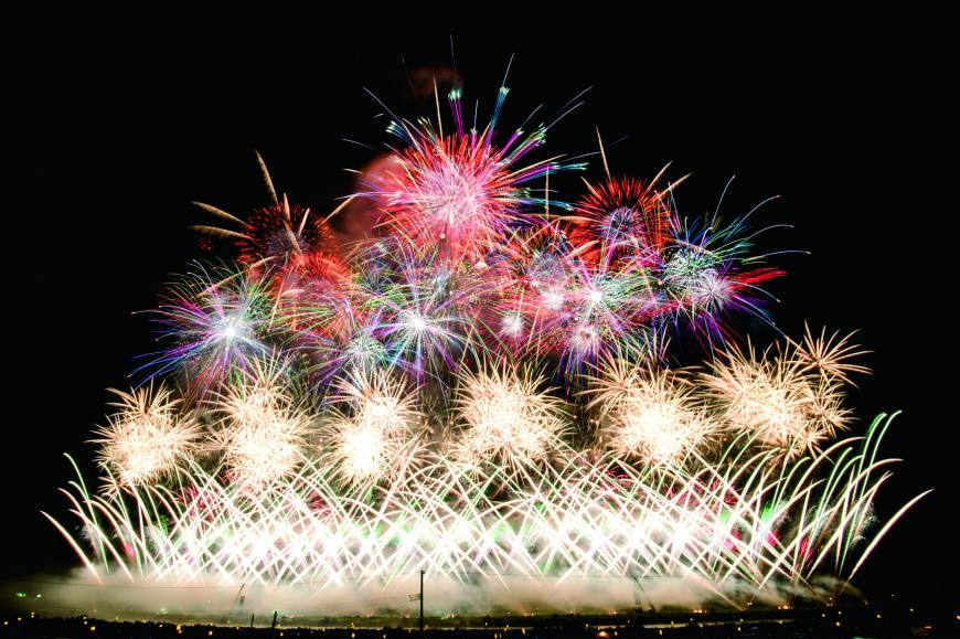 Explosions in the sky: Fireworks lie at the heart of summer in Japan