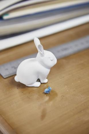 Ornamental rabbits produced by Shima-Modeling.