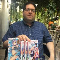 Sam Pinansky, founder of light novel publisher J-Novel Club | ROLAND KELTS