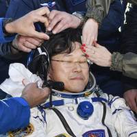 Japanese astronaut Kanai in rehabilitation in Houston