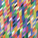 "Bridget Riley's ""From Here"" (1994)"