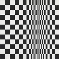 Bridget Riley's 'Movement in Squares' (1961) | © BRIDGET RILEY 2018, ALL RIGHTS RESERVED. COURTESY KARSTEN SCHUBERT, LONDON