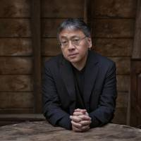 Sir Kazuo: Nobel Prize winning author Kazuo Ishiguro was knighted in June. | JEFF COTTENDEN