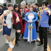 A global love affair: A multicultural band of cosplayers attend an anime convention in Tokyo. | YOSHIAKI MIURA
