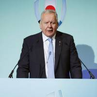 World Rugby chairman Bill Beaumont | KYODO