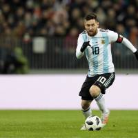 Lionel Messi will once again carry Argentina's hopes.   AP