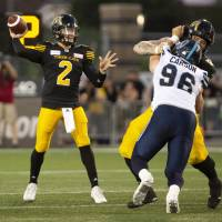Johnny Manziel makes CFL debut in exhibition game