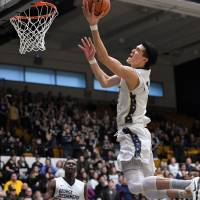 George Washington's Yuta Watanabe increased his scoring output in each of his four seasons with the Colonials. | GW SPORTS