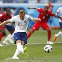 England routs Panama to reach World Cup knockout round