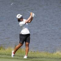 Nasa Hataoka three back at Women's PGA Championship