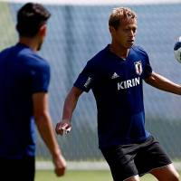 Keisuke Honda says Japan is making up for 2014 disappointment at World Cup