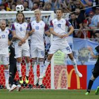 Iceland earns draw against Argentina as Lionel Messi misses penalty