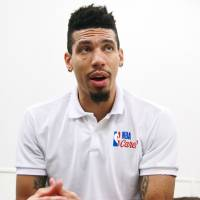 The Spurs' Danny Green speaks during an interview with The Japan Times on Saturday in Tokyo. | KAZ NAGATSUKA