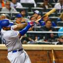 The Dodgers' Matt Kemp hits a grand slam against the Mets on Saturday in New York.