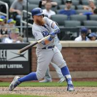 Dodgers connect on seven home runs to complete series sweep of Mets
