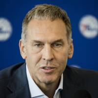 Bryan Colangelo out as 76ers president in wake of Twitter scandal