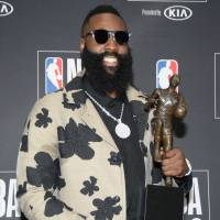 Houston's James Harden named NBA's MVP for the first time