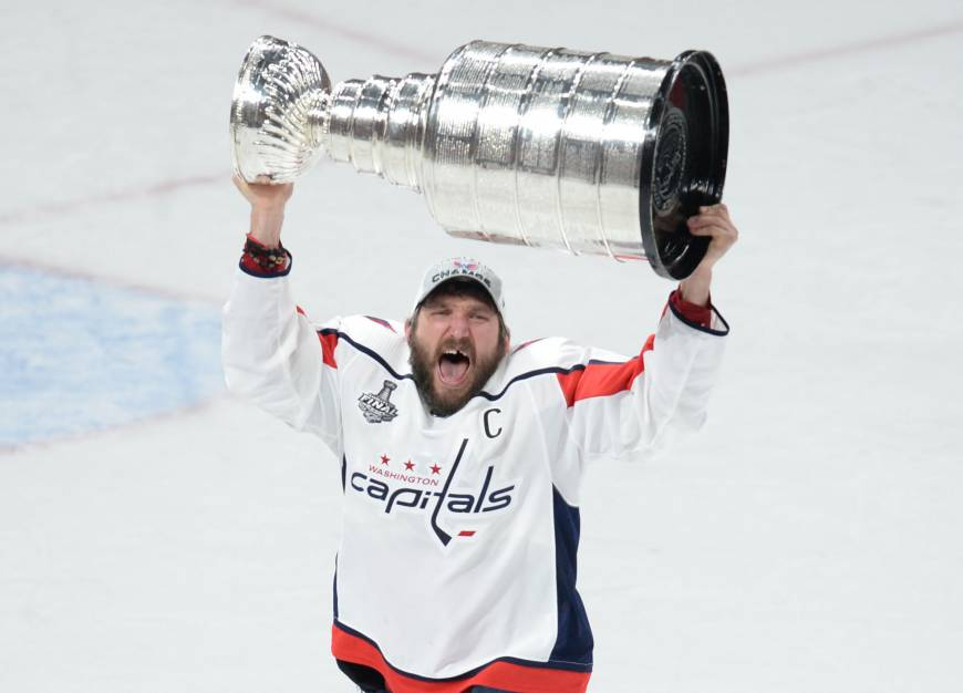 Capitals storm to Stanley Cup title