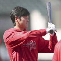 Angels' Shohei Ohtani awaits elbow evaluation from medical staff