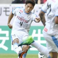 Yoshito Okubo has scored 181 goals in the J. League top division during his career. | KYODO