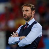 Manager Gareth Southgate has guided England to the round of 16 at the World Cup. | REUTERS