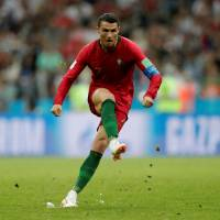 Ronaldo scores hat trick as Portugal draws with Spain