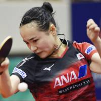 Mima Ito, Tomokazu Harimoto claim singles titles at Japan Open