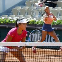 Japan pair into doubles final