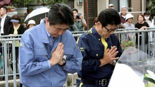 Prayers for quake victims